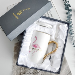 Luxury paper mug box with foam printed cardboard