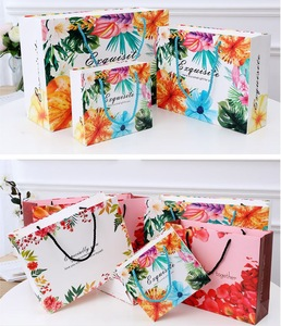 Art Paper Wrapped Wedding Handle Gift Bag China Supplier