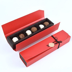 Custom  Chocolate Box of Luxury Pass SGS Test Box for Packaging