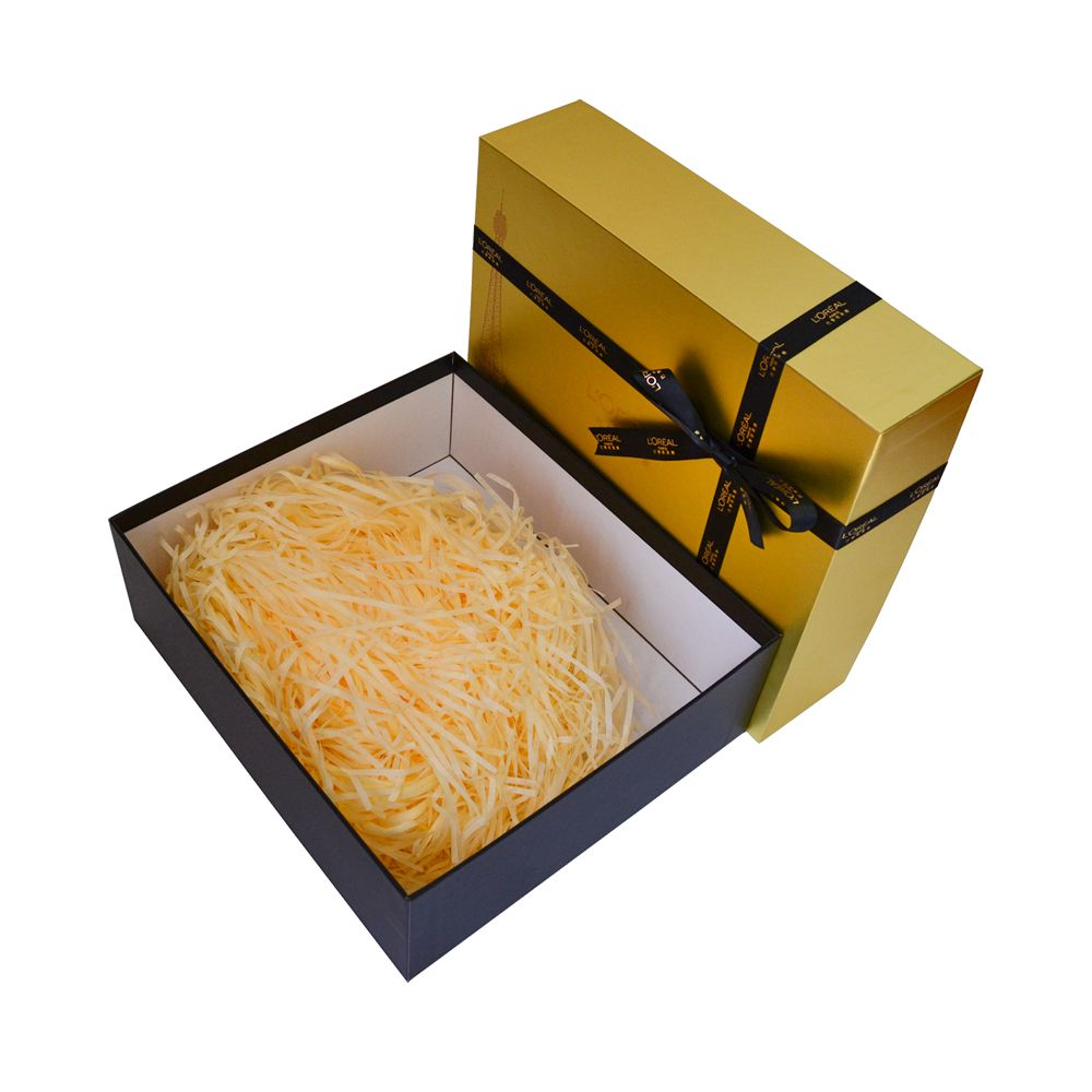 Lid and Tray Rigid Packaging Boxes with Ribbon Wholesale