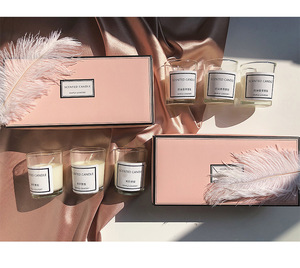 Custom Rigid Delicate Scented Candle Packaging Box Zhejiang Manufacturer
