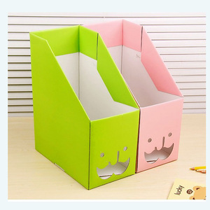 China factory custom decorative corrugated paperboardrd bookcases