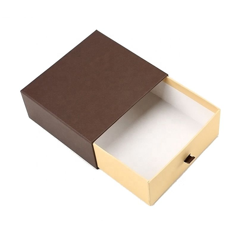 Rigid Slider Drawer Jewelry Packaging Boxes