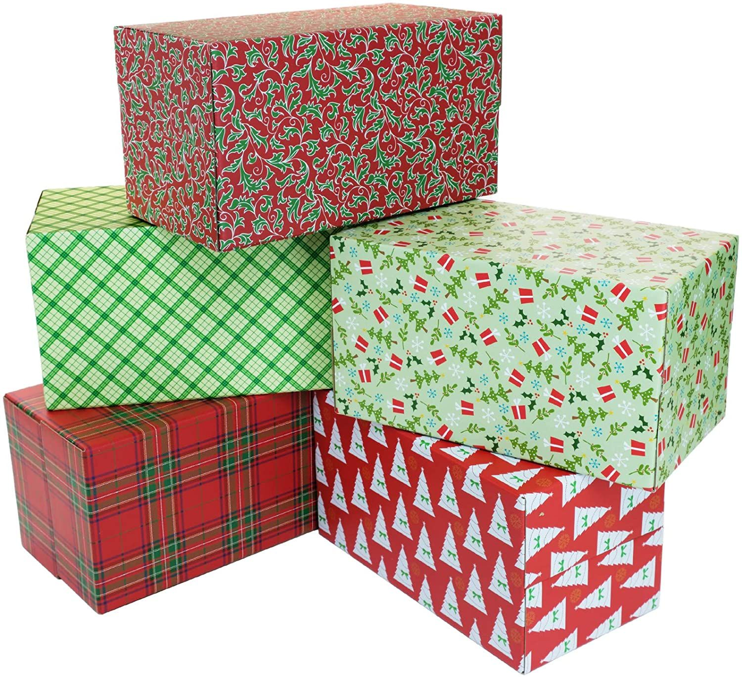 Christmas and Holiday Color Printing Paper Folding Box China Manufacturer