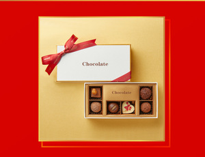 Chocolate Packaging Gift Boxes With Divider Customized Empty Chocolate Boxes