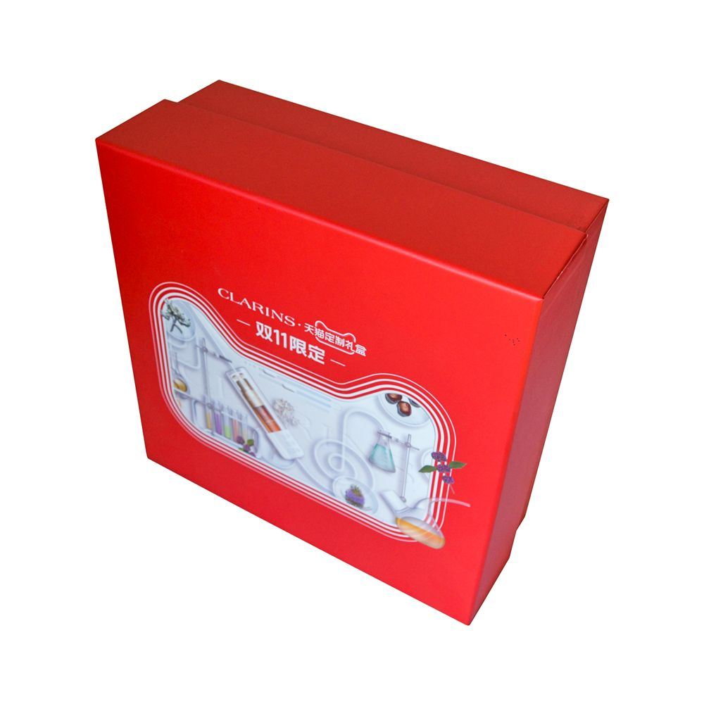 Lid and Tray Paper Cosmetics Skin Care Rigid Packaging Boxes