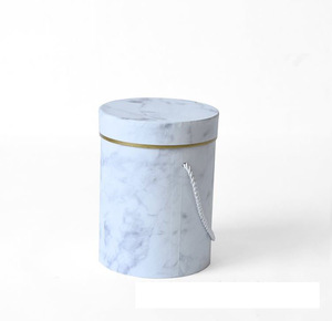 Flowers Delivery Paper packaging Boxes Set Round Packaging Cylindrical Boxes