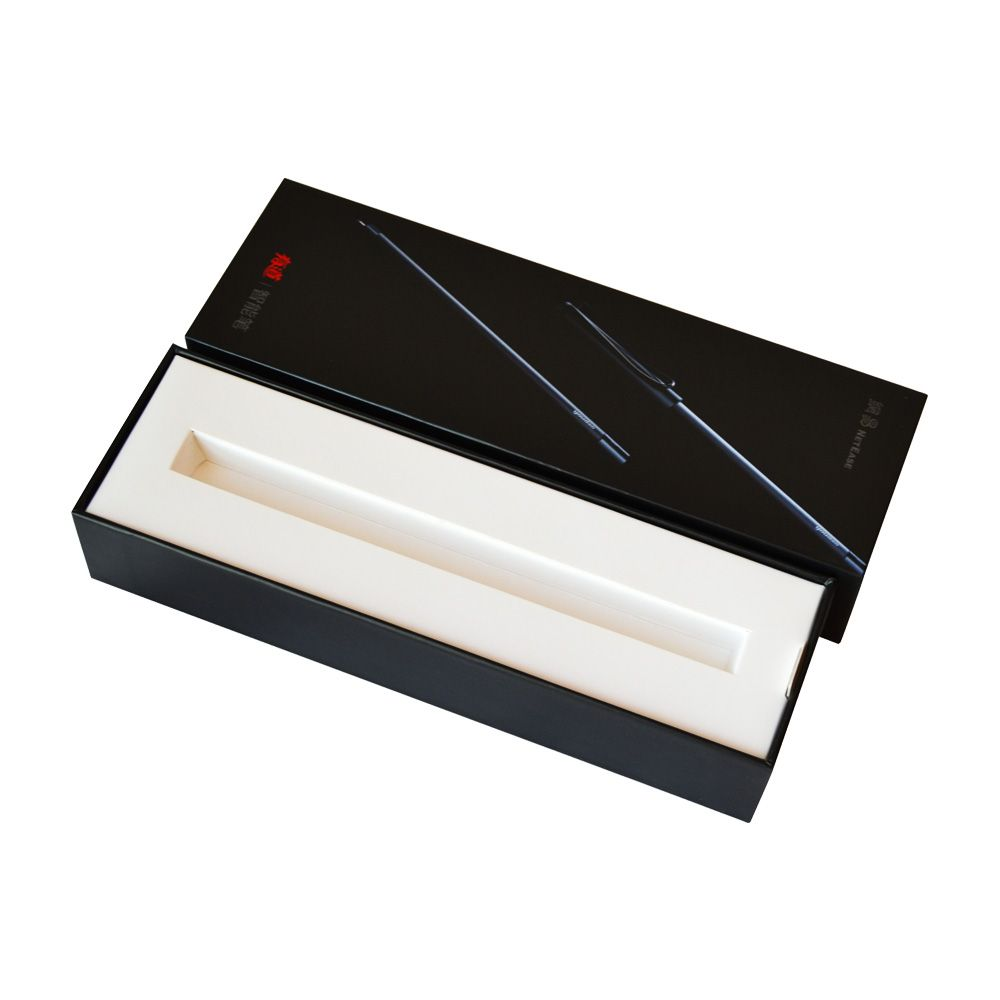 Lid and Tray Rigid Boxes with Paper Inner Tray Insert