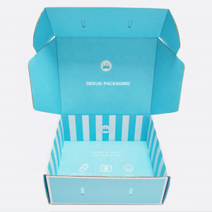 Custom Printed Clothing Mail Mailer Mailing Shipping Front Tuck End Cardboard Corrugated Paper Box With Logo For Clothes Package