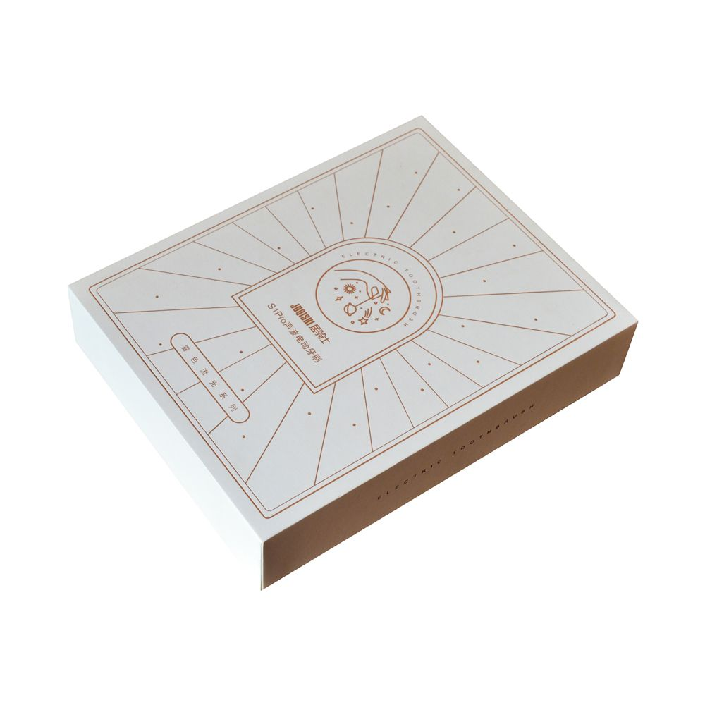 Cosmetics Drawer Rigid Paper Packaging Boxes with Blister Inner Tray