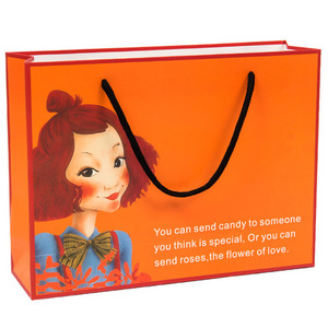 Wholesale China Supplier Custom Shopping Kraft Paper Bag for Gifts