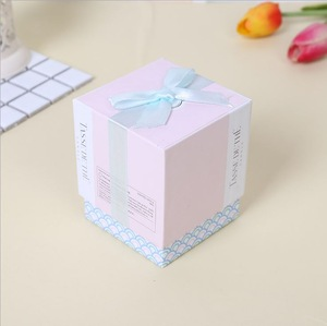 Professional  Wholesale Custom Print Logo Luxury  Candle Gift Box for Packaging