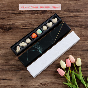 Pattern Gifts Candy Bar Sweets Bonbon Packaging Plastic Trays Box With Cushion Pads Chocolate Boxes