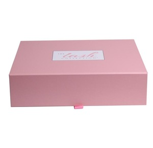 Custom clamshell exquisite Folding gift high-grade packaging box export shoe box magnet clamshell box