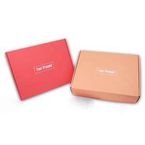 Free Printed Corrugated Paper Mailer Shipping For Clothes Custom Box Sample