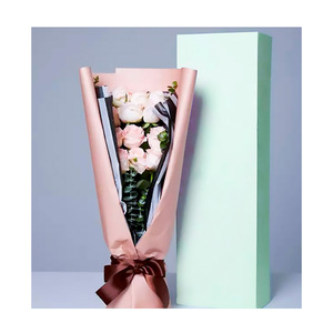 Pretty Simple Design Huge Paper Box Custom Colour Flower Large Packaging Box For Gift