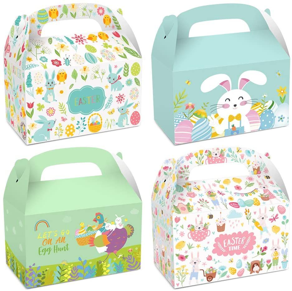Artpaper Color Printing Collapsible Cardboard Carrying Treat Box Manufacturer