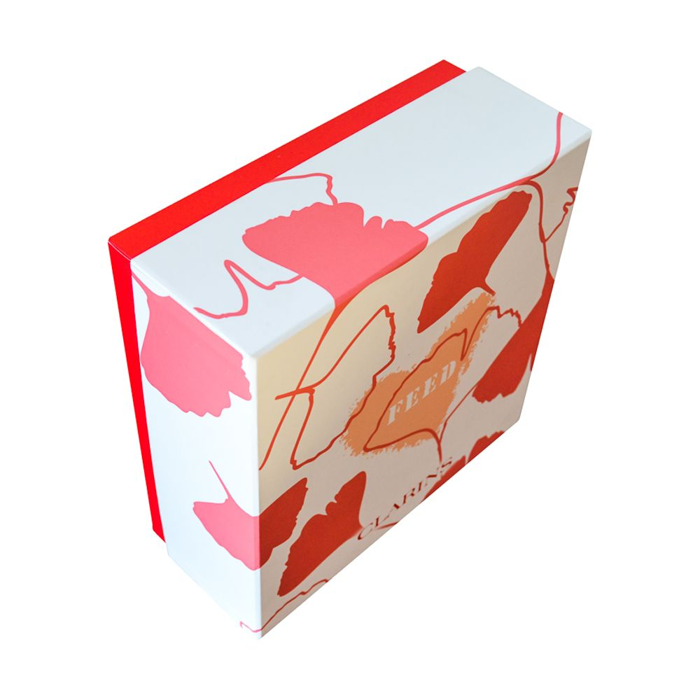 Lid and Tray Hardboard Clothing Packaging Rigid Boxes Supplier