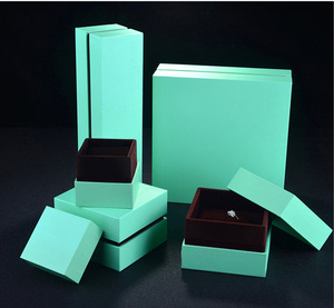Ring Bracelet Necklace Cardboard Rigid Jewelry Packaging Gift Boxes China Supplier