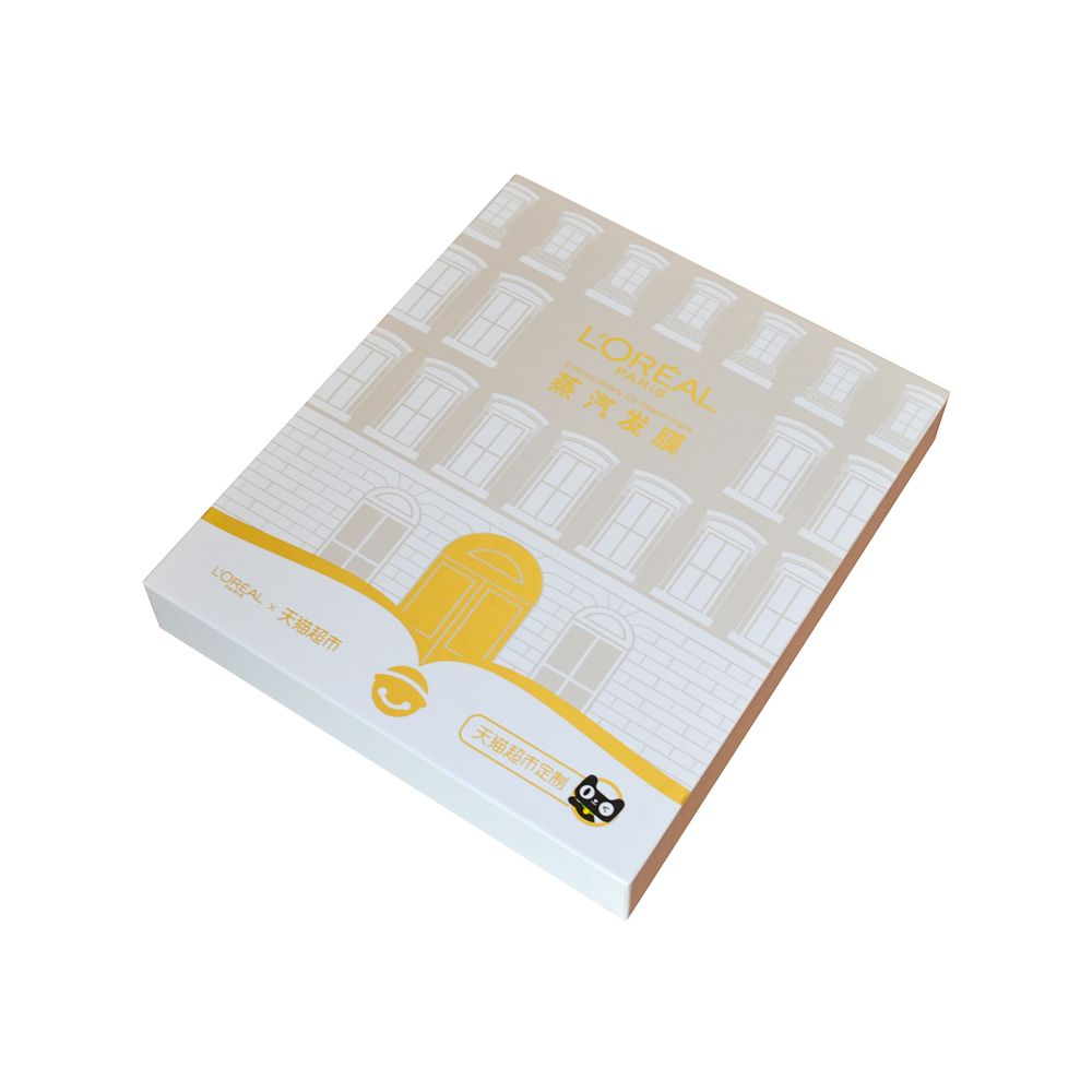 Lid and Tray Hair Mask Rigid Paper Packaging Box Manufacturer