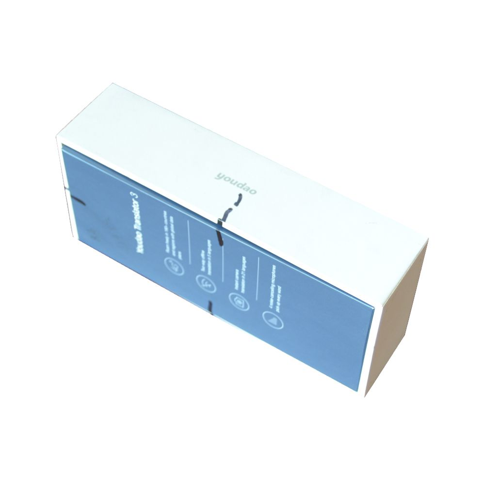 Paper Packaging Gigid Box for Electronics China Manufacturer