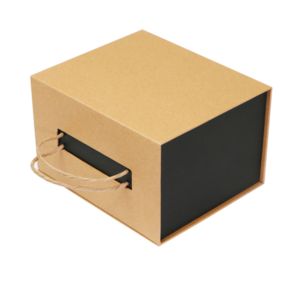 High-end portable glass packaging new kraft packaging water cup gift box cup gift box