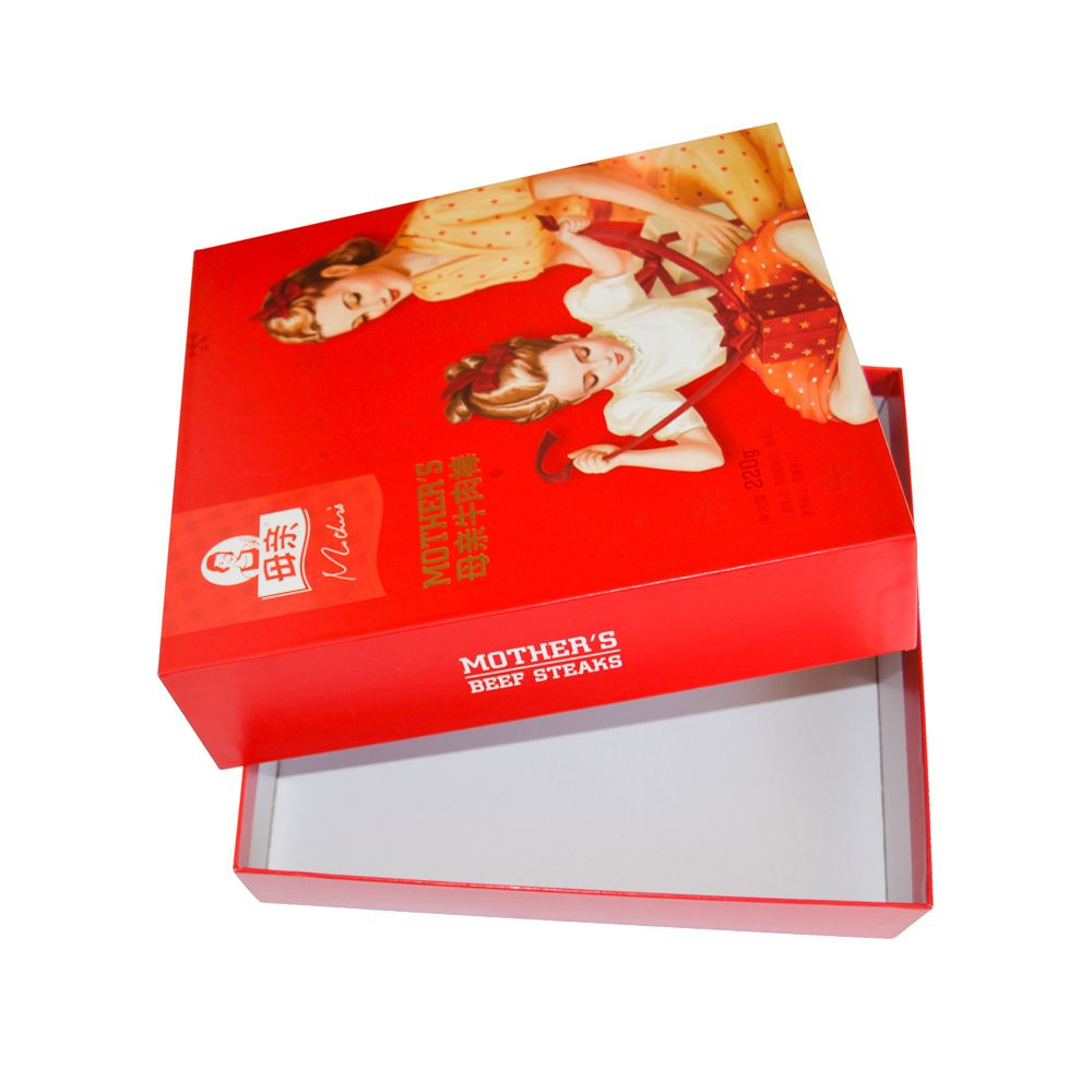Spot UV Lid and Tray Rigid Packaging Gift Boxes Manufacturer
