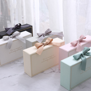 Decoration Wedding Favor Inserts Gifts Candy Bar Sweets Bonbon Custom Logo Packaging Mini Recyclable Paper Chocolate Boxes
