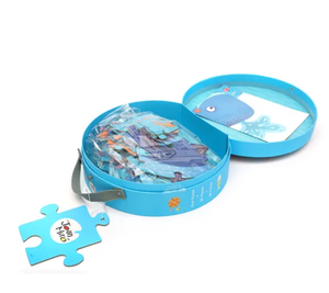 Colorful children's education class jigsaw with  beautiful story  paper puzzle beautiful puzzle