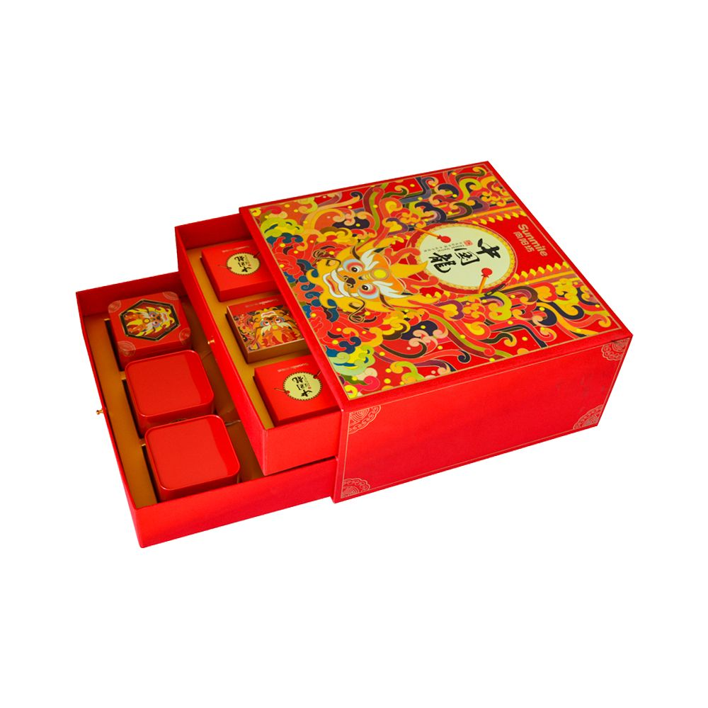 Two Layer Drawer Paper Food Packaging Boxes Professional Manufacturer