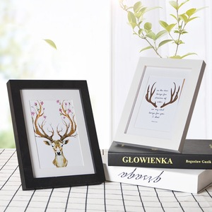 Custom Printing 8x10cm Paper Photo Frames Pictures Manufacturer China