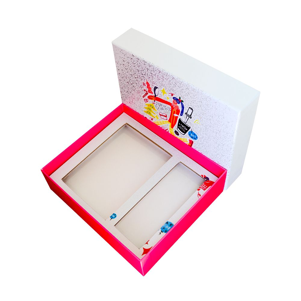 Eye Shadow Makeup Lid and Tray Packaging Gift Boxes China Supplier