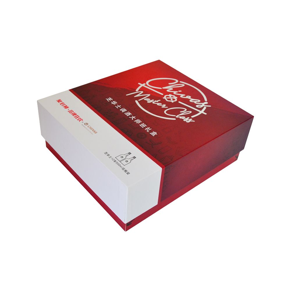 Rigid Paper Wine Packaging Boxes Professional Manufacturer